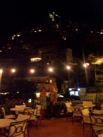 Hotel Buca di Bacco: terrazza sul mare