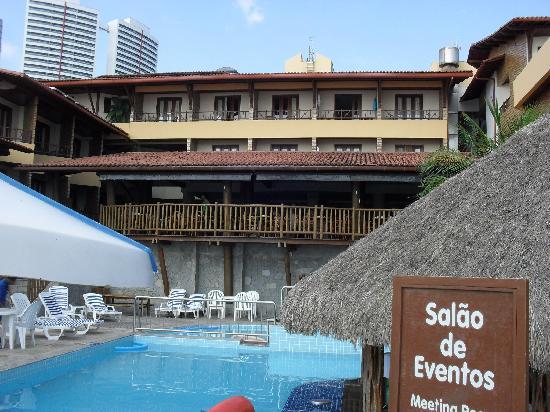 Visual Praia Hotel: Do restaurante tem a visão de três das cinco piscinas