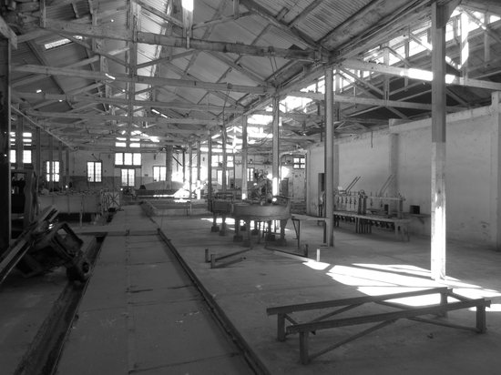 Fray Bentos, Uruguay: One of the factory halls