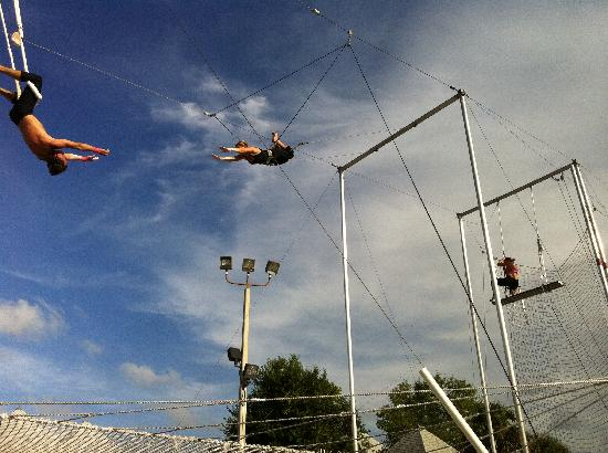 Club Med Sandpiper Bay: The flying trapeze