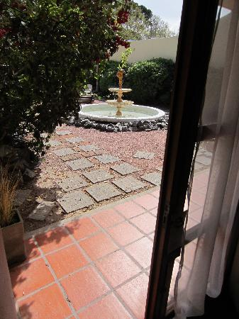 Don Antonio Posada: View from downstairs room