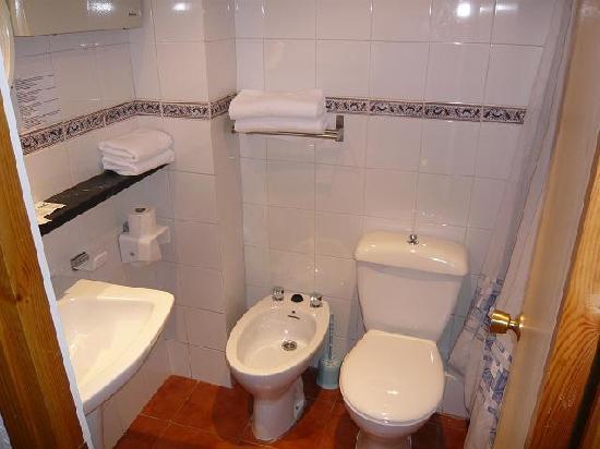 Aparthotel Condor : baño