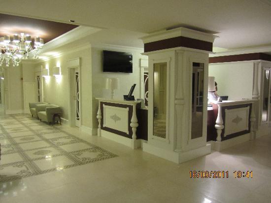Hotel Dvor Podznoeva: reception