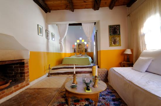 Riad Baoussala : Chambre Oasis