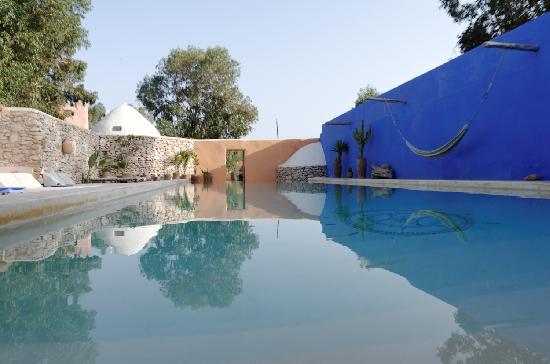 Riad Baoussala : La piscine