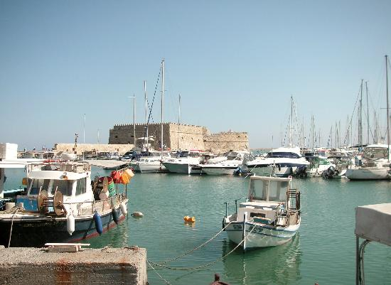 Marilena Hotel: heraklion harbour
