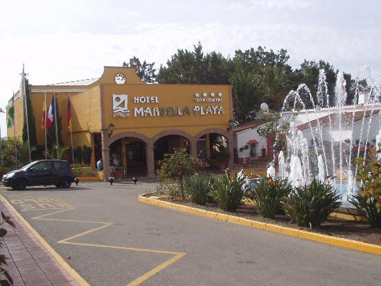 Marbella Playa Hotel: Entrada