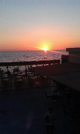 Saline Hotel : Sunset at the Hotel Saline