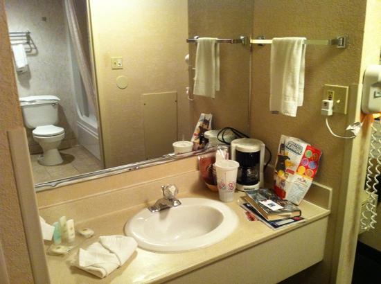 Comfort Inn: Sink area