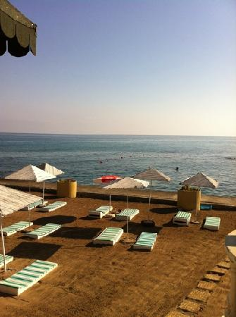 Agios Georgios, Chipre: hotel beach