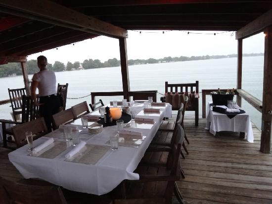 View From Boat Dock Picture Of Hillstone Restaurant