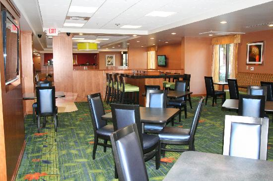 Fairfield Inn & Suites Anaheim North/Buena Park: Breakfast/Dining Area