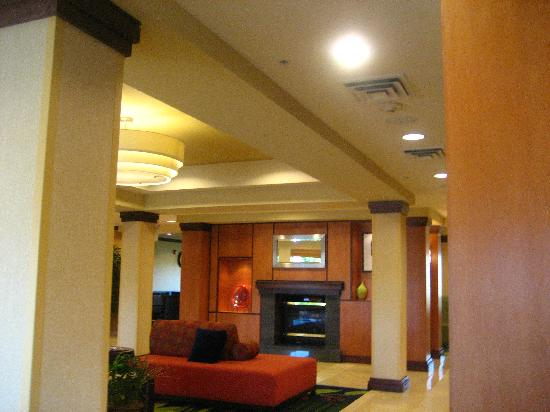 Fairfield Inn & Suites Richfield: reception room