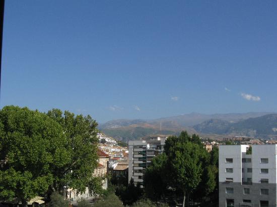 Hotel Juan Miguel: Balcony View