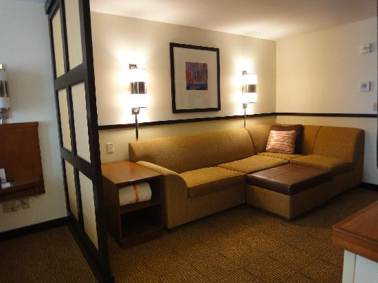 Hyatt Place Phoenix/Mesa: TV / lounging area in room
