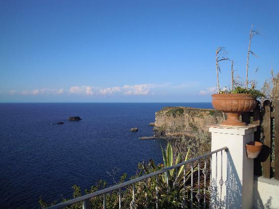 Albergo Belvedere: la vista dal giardino