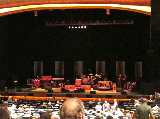 Grand Theater at Foxwoods : Theater from 2nd section, first floor, row PP