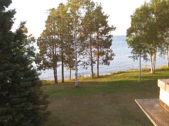 Sand Hills Lighthouse Inn: View from our room