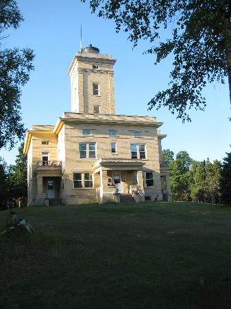 Sand Hills Lighthouse Inn: Exterior of Lighthouse