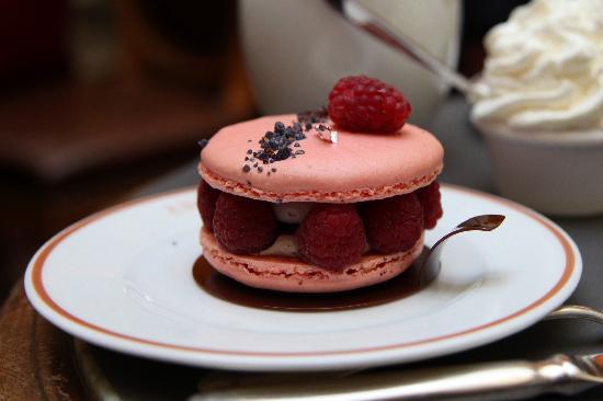 Angelina : My raspberry dessert!