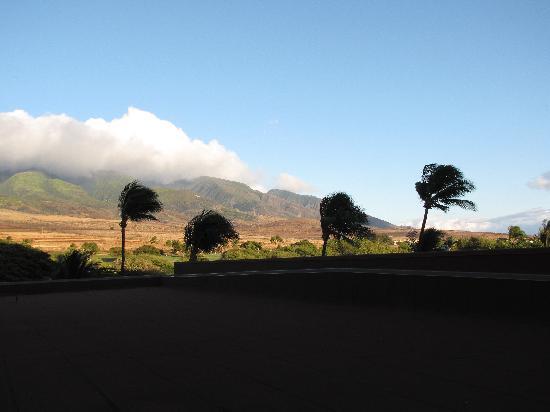 Hyatt Regency Maui Resort and Spa: West Maui Mountains