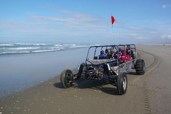 Sand Rails buggy on the beach - Picture of Sandland Adventures