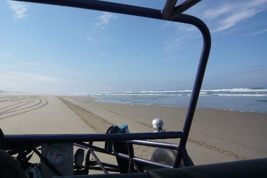 Sandland Adventures: Riding on the beach