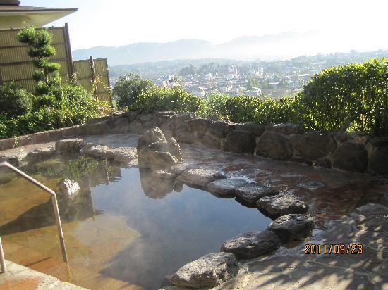 Shoten no Oka Breeze Bay Resort Yamaga: 施設の露天風呂です