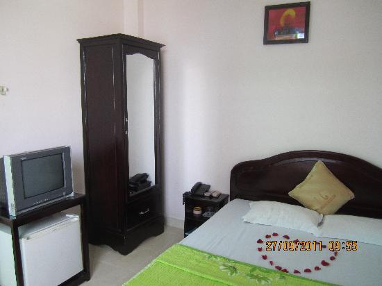 Truong Giang hotel: standard double room