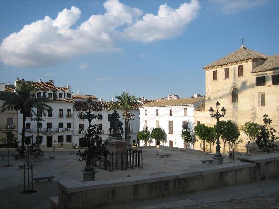 Hotel Coso Viejo: The square opposite the hotel