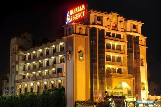 Hotel Maharaja Regency : Hotel View