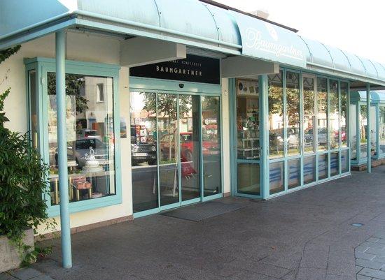 Cafe Baumgartner: Eingang