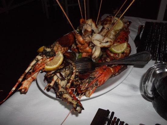 The Pily Pily Restaurant : plat de languste
