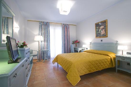 Regina Dell Acqua Resort: the blue room
