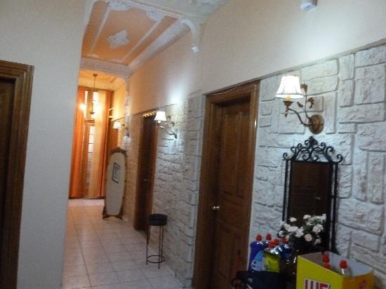Hotel Neos Olympos: hallway