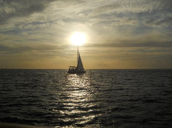 St. James's Club Morgan Bay: Sunset