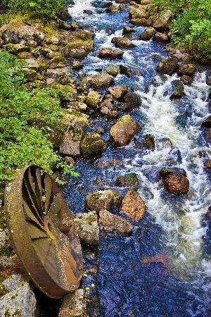 Rapid Falls in Sahanlahti area