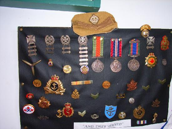 Age of Sail Heritage Museum: Medals
