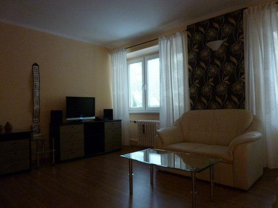 Apartments Bratislava: Sitting room