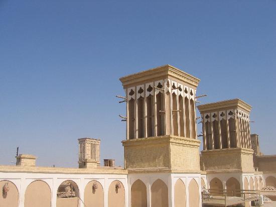 Fahadan Museum Hotel: vue depuis le toit