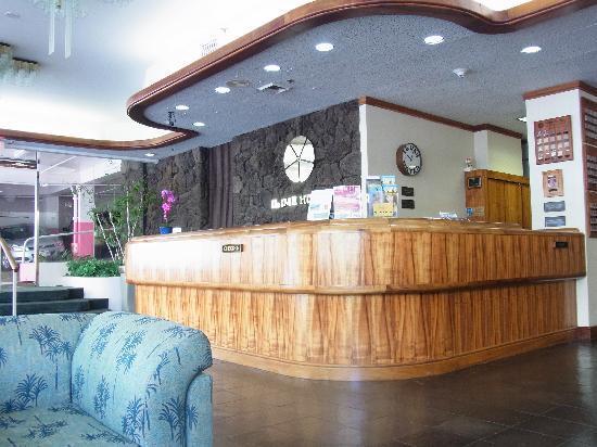 Ilima Hotel: ロビー