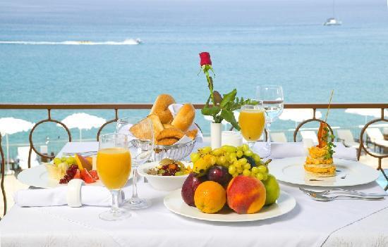 Regina Dell Acqua Resort: Amethyst Hippocamous-Breakfast
