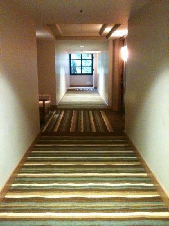 Hotel Bellevue: 客室の廊下。広いです。