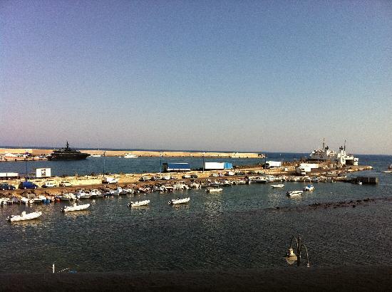 Mediterraneo Hotel: La vista dalla mia stanza