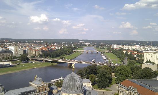 De Frauenkirche (Onze-Lieve-Vrouwekerk): View from the dome