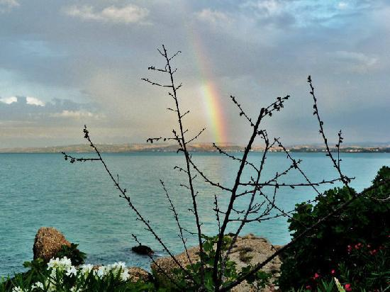 Camping Residence Uliveto : L'arcobaleno sul Residence