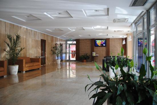 Medosz Hotel: холл