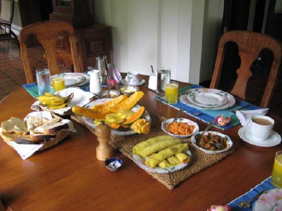 Horathapola Estate : Breakfast