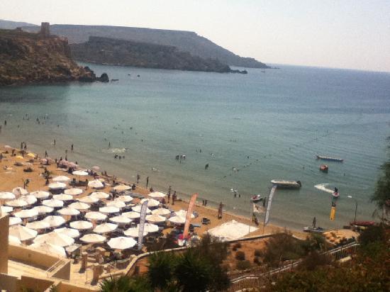 Radisson Blu Resort & Spa, Malta Golden Sands: view from po