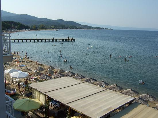 Olympiada, Grecia: A view from a top floor room